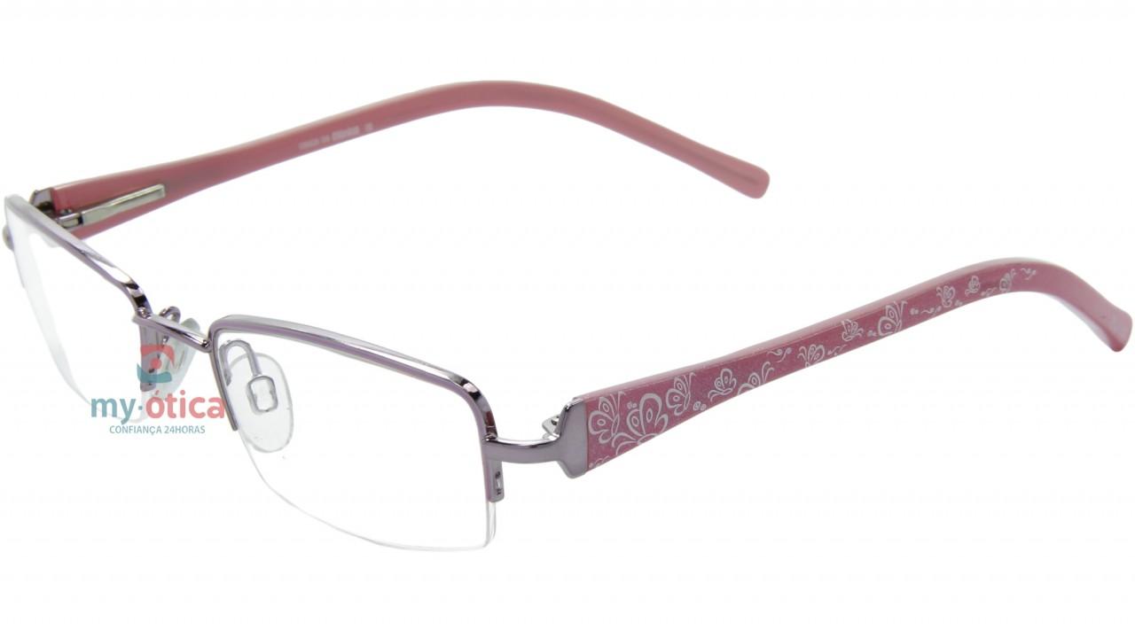 e1122e3a50003 Óculos de Grau Infantil Turma da Mônica 7426 - Rosa - Óculos - Turma ...